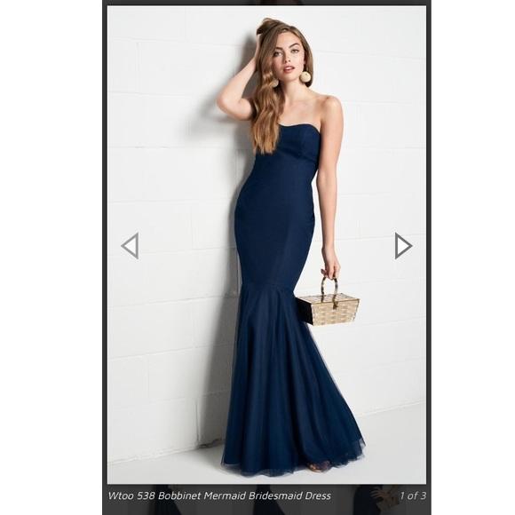French Novelty Dresses & Skirts - NUDE/BLUSH French Novelty bridesmaid's dress